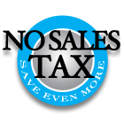 No Sales Taxes
